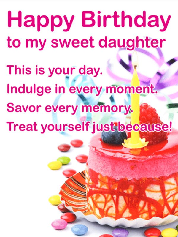 birthday message to a mother from her daughter ; Awesome-Birthday-Wishes-for-Sweet-Daughters