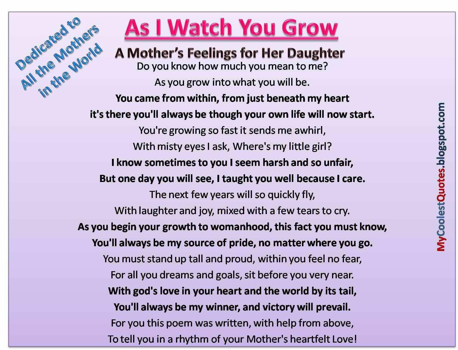 birthday message to a mother from her daughter ; ec96f93406d7ea279d35f856eebb0a0d