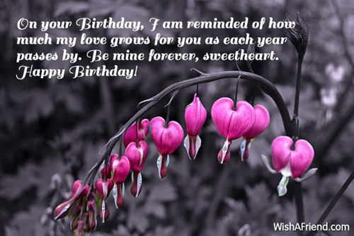 birthday message to a sweetheart ; 1551-girlfriend-birthday-messages