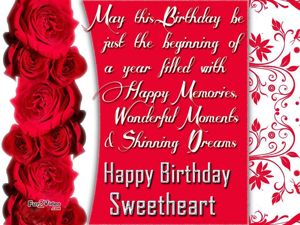 birthday message to a sweetheart ; Printable-and-Romantic-Birthday-Card-Invitation-Ideas-for-Wife-Sweetheart