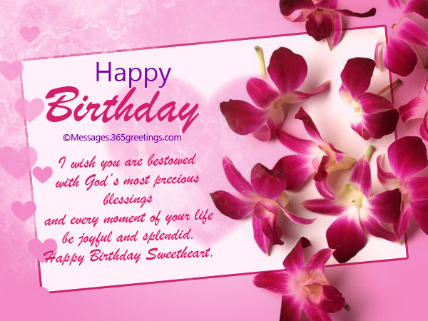birthday message to a sweetheart ; birthday-cards-for-lovers