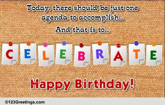 birthday message to a work colleague ; 115756_pc