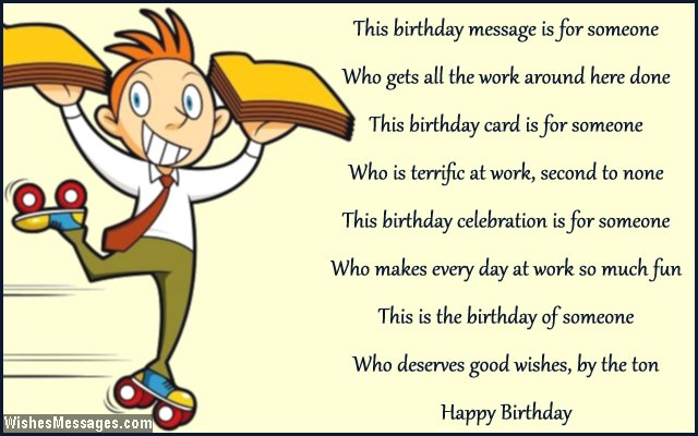 birthday message to a work colleague ; Birthday-card-poem-for-office-colleagues-at-work