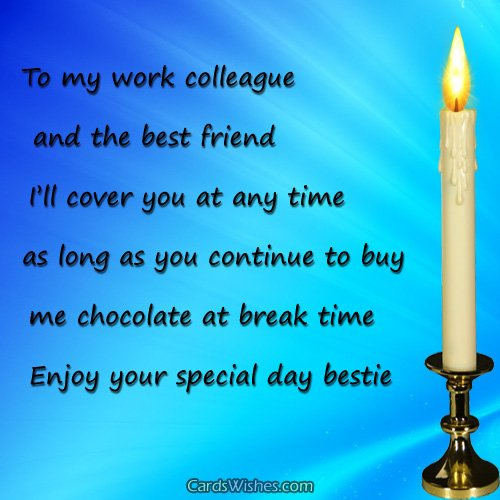 birthday message to a work colleague ; happy-birthday-co-worker
