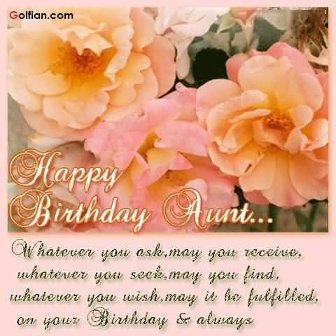 birthday message to aunt in law ; Mind-Blowing-Aunt-Birtday-Wishes-Greetin-E-Card-With-Flowers