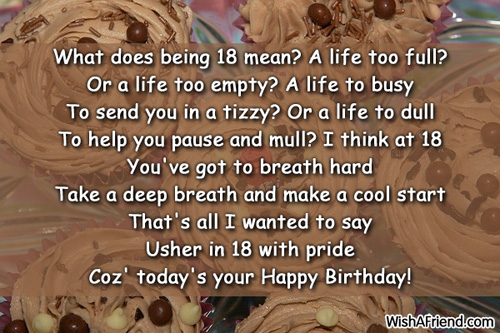birthday message to daughters boyfriend ; 1249-18th-birthday-wishes