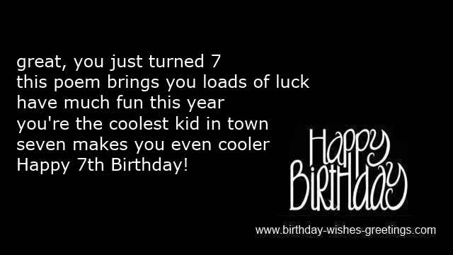 birthday message to daughters boyfriend ; 7th-birthday-greetings-boys