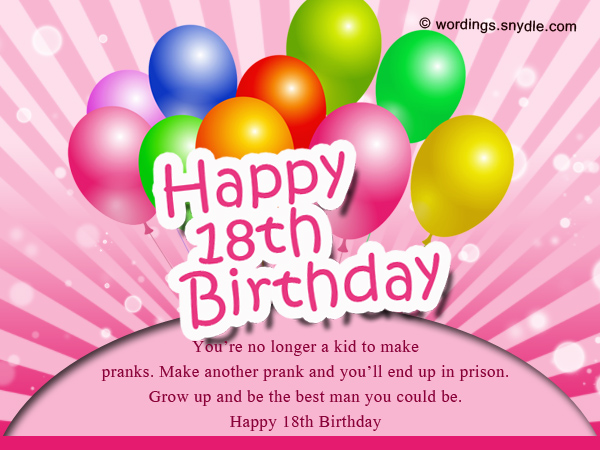 birthday message to debutante ; funny-18th-birthday-wishes