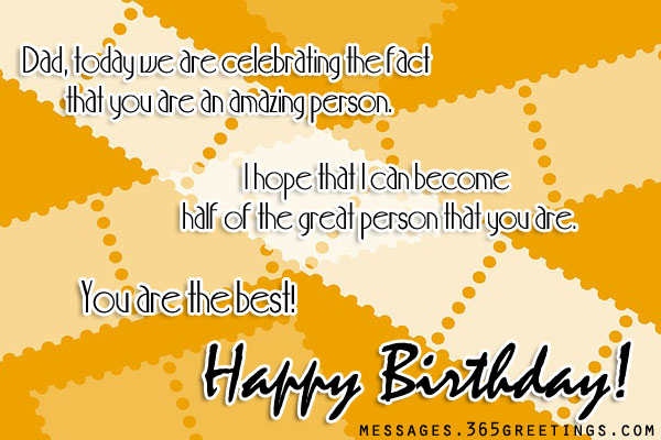 birthday message to husband and a father ; birthday-messages-for-dad