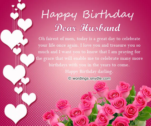 birthday message to husband and a father ; romantic-happy-birthday-wishes-for-husband