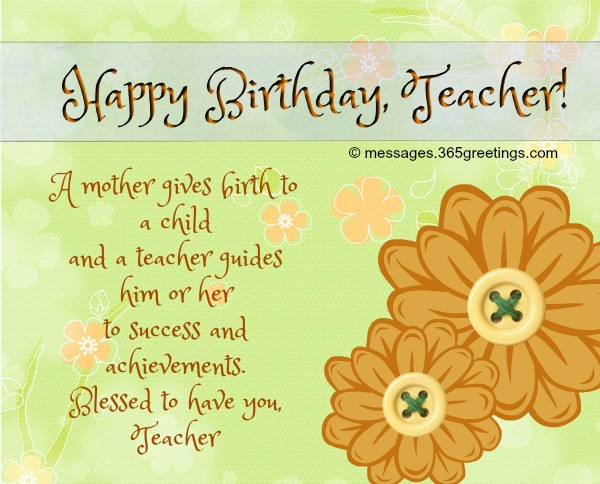 birthday message to mentor ; birthday-wishes-for-teacher