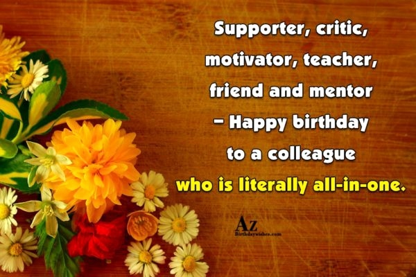 Birthday Message To Mentor Best Happy Birthday Wishes