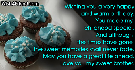 birthday message to my childhood friend ; 150-brother-birthday-sayings-1
