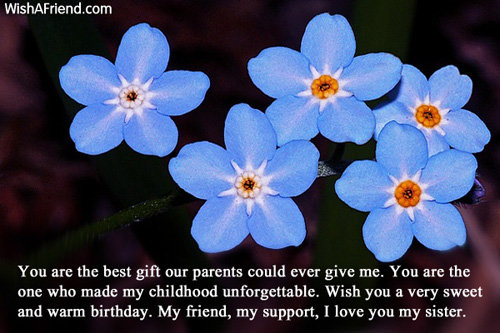 birthday message to my childhood friend ; 462-sister-birthday-messages