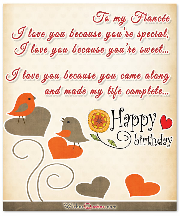 birthday message to my fiance ; Beautiful-Birthday-Card-for-Fiancee