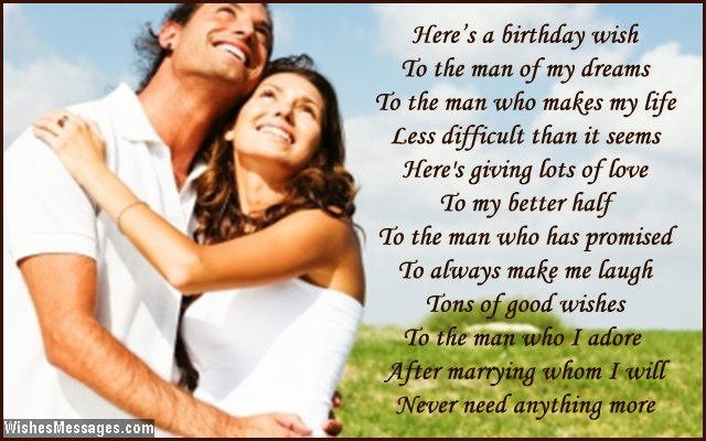 birthday message to my fiance ; Beautiful-birthday-message-to-fiance-from-fiancee