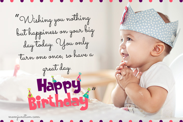 birthday message to my little niece ; 1st-Birthday-Wishes-For-Son3