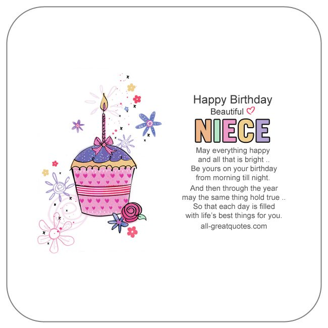 birthday message to my little niece ; Happy_Birthday_Niece_Wishes_To_Write_In_A_Card