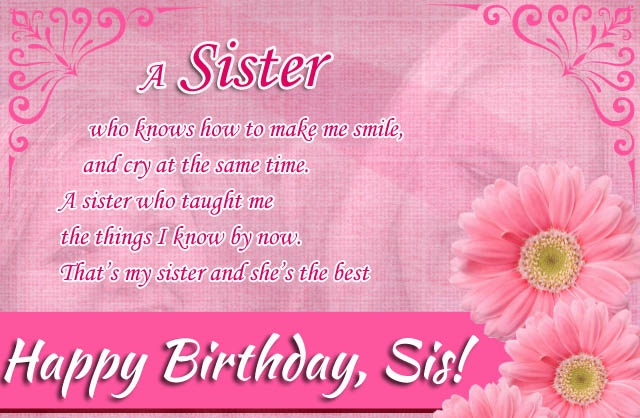 birthday message to my lovely sister ; Birthday-Wishes-for-My-Lovely-Sister-