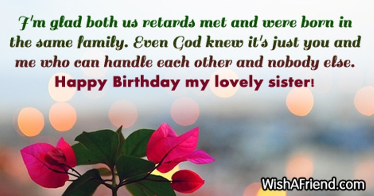 birthday message to my lovely sister ; My-Lovely-Sister-wb0160733