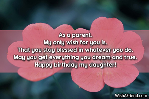birthday message to my only daughter ; 9943-daughter-birthday-sayings