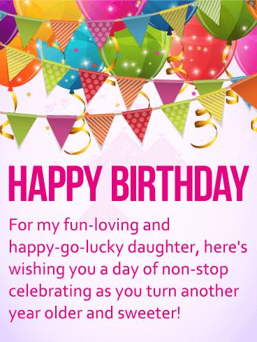 birthday message to my only daughter ; b_day_fdo16-38f00177e9de4091f0802b2031a7eaee