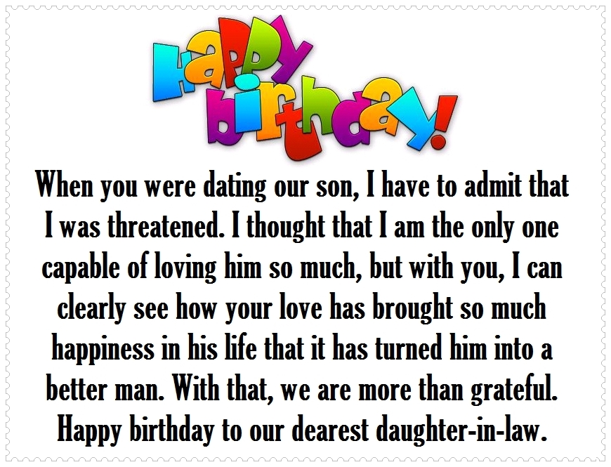 birthday message to my only daughter ; daughter-in-law-birthday-quotes-86