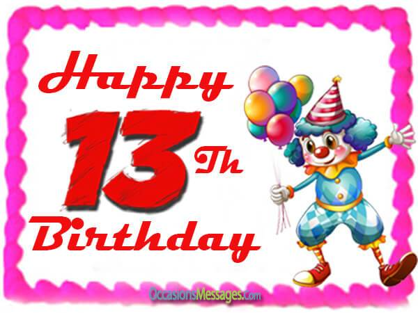 birthday message to my son turning 13 ; 13th-Birthday-Messages
