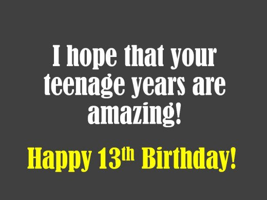 birthday message to my son turning 13 ; 8700999_f520