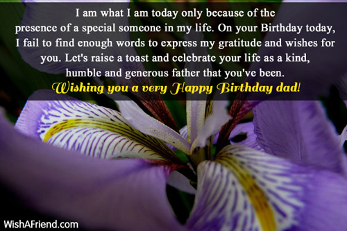 birthday message to my special someone ; 986-dad-birthday-wishes