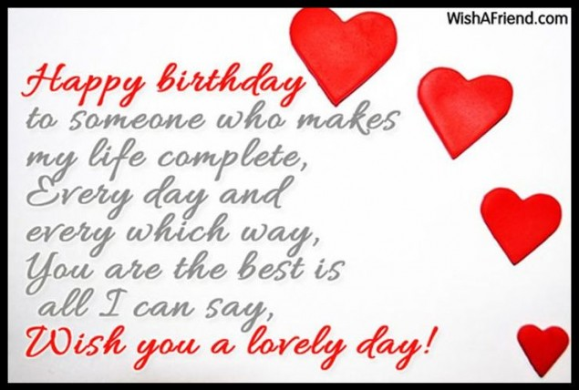 birthday message to my special someone ; Happy-Birthday-Wishes-With-Message-On-Special-Day