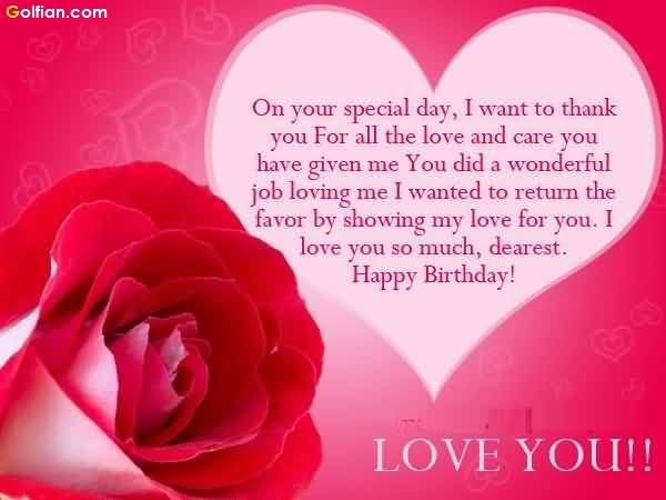 birthday message to my special someone ; Lovely-Heart-Birthday-Message-For-Someone-Special-Greetings