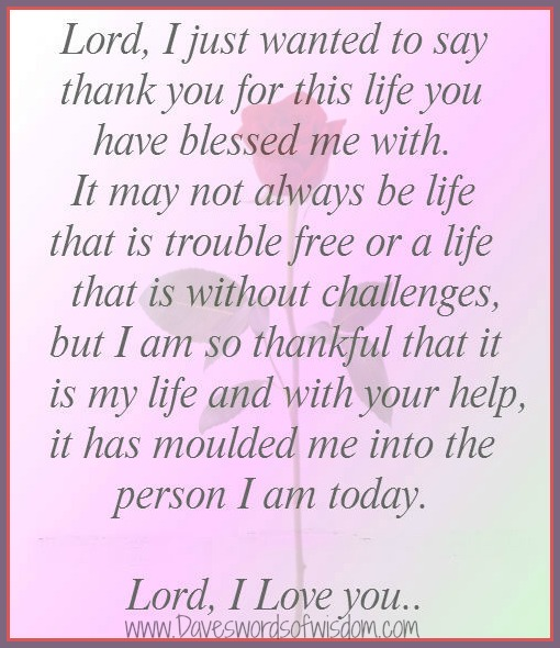 birthday message to myself thanking god ; thank+you+lord+for+life