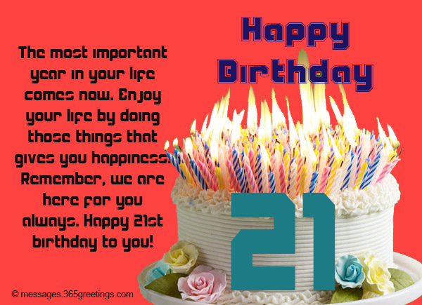 birthday message to nephew boy ; 21st-birthday-wishes-Messages-and-greetings-02