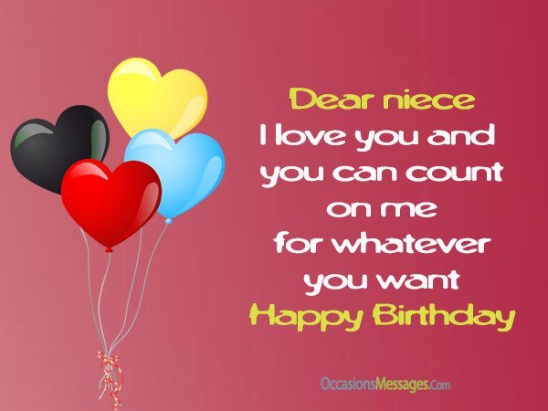 birthday message to your niece ; Birthday-wishes-for-niece-1