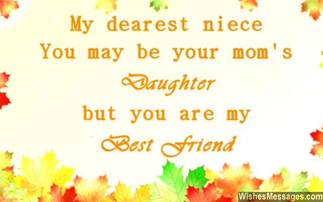 birthday message to your niece ; Sweet-quote-for-nieces-and-aunts-and-uncles