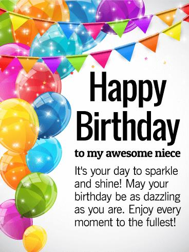 birthday message to your niece ; b_day_fni23