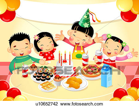 birthday party clip art pictures ; birthday-party-clipart-clip-art-of-children-at-birthday-party-u10652742-search-clipart-school-clipart