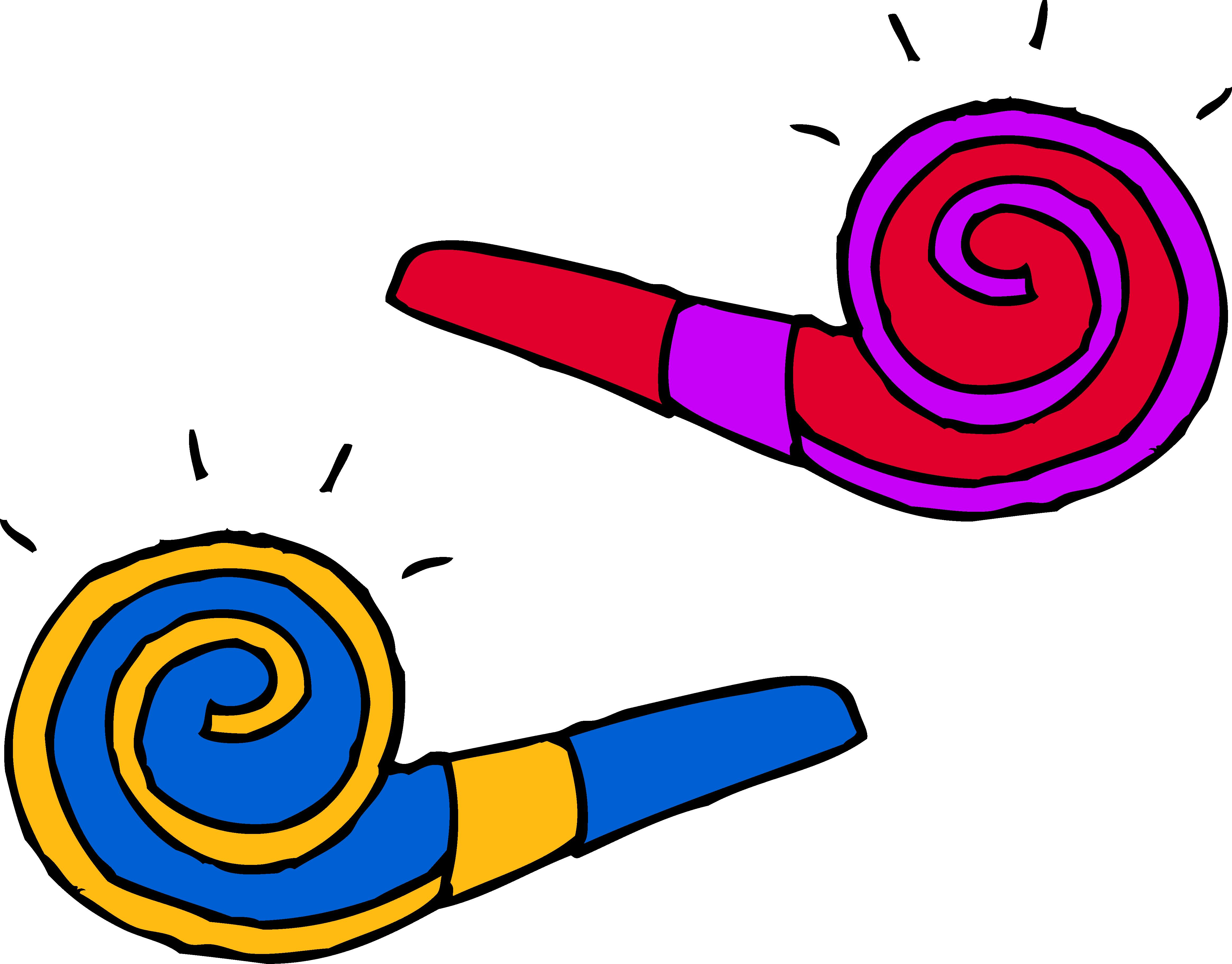 birthday party clip art pictures ; party_blowers_clip_art