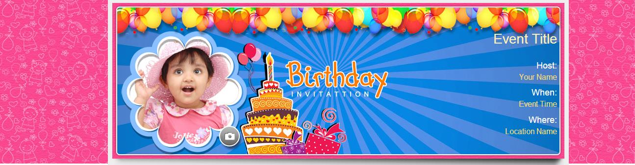 birthday party invitation cards online india ; yoo1