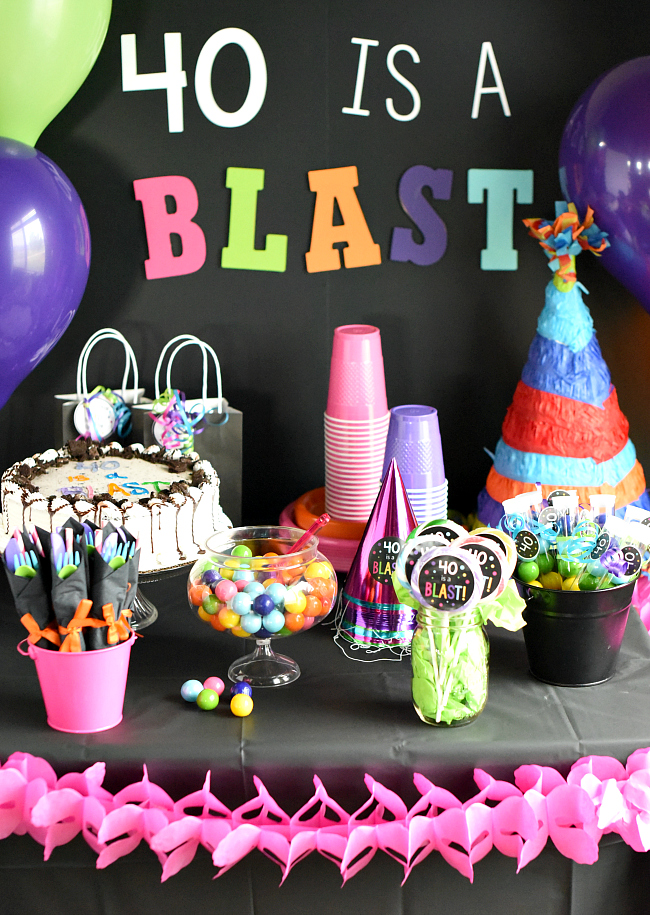 birthday party photo ideas ; 40thBirthdayPartyIdeas