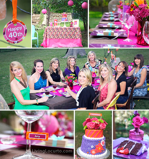birthday party photo ideas ; LivingLocurto-40th-Birthday-Party