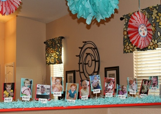 birthday party picture display ; photo-display-ideas-for-birthday-party-1
