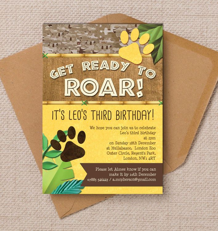birthday party stationery ; cede4a39420d00d45a06f614b7a6c261--jungle-party-lion-guard-party
