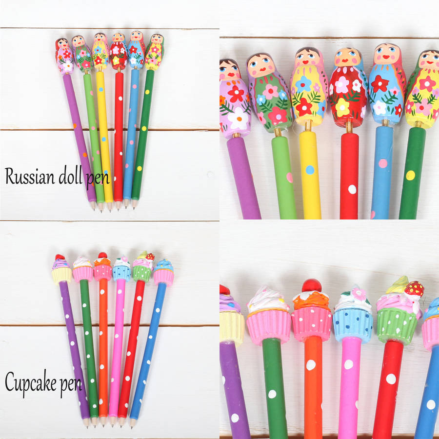 birthday party stationery ; original_girls-stationery-birthday-party-bag-favour-fillers-1