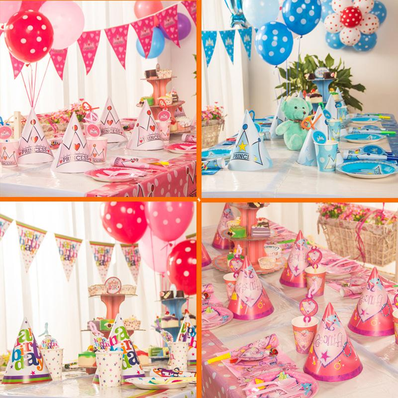 birthday party supplies themes ; delightful-kids-birthday-supplies-5-party-decorations-paper-cotillon-cumpleanos-cartoon-theme
