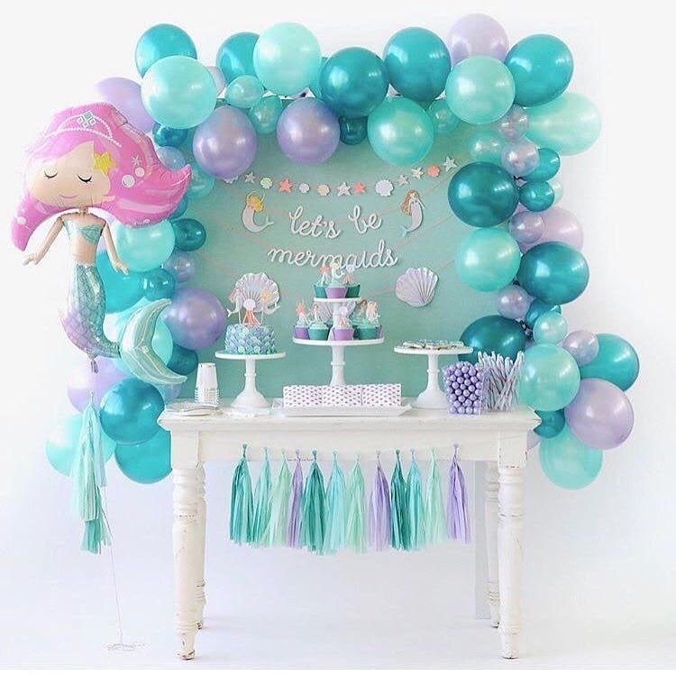 birthday party themes ; mermaids