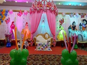 birthday party themes ; princess-birthday-party-theme