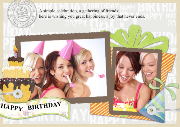 birthday photo collage maker ; greetingcard_15