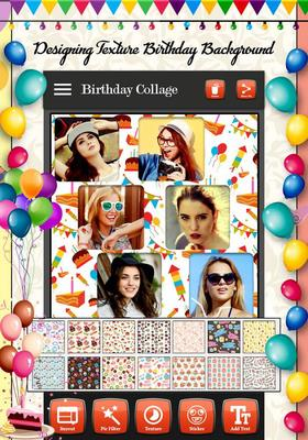 birthday photo collage maker ; imagen-birthday-photo-collage-maker-6gal